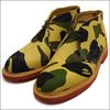 A BATHING APE × MARK McNAIRY 1ST CAMO CHUKKA BOOTS YELLOW CAMO画像