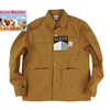 POINTER LOT46 BROWN DUCK CHORE COAT画像
