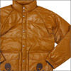 A BATHING APE x mastermind JAPAN LEATHER CLASSIC DOWN JACKET BROWN画像