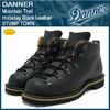 Danner Mountain Trail Holladay Black Leather STUMP TOWN D-12700画像