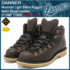 Danner Mountain Light Elkins Rugged Metro Brown Leather STUMP TOWN GORE-TEX D-30869画像