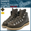 Danner Mountain Light Lownsdale Dk.Brown Leather STUMP TOWN GORE-TEX D-33110X画像