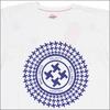 Whiz サークルロゴ Tシャツ WHITE画像