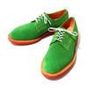 Mark McNairy Plain Derby Shoe(Suede Kelly Green) 8538画像