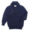 BLACK SHEEP ショールカラー セーター メンズ画像