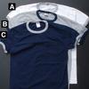 CALCRU 半袖 リンガーポケットTシャツ画像