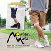 Mountain Mania MM ST DENIM SHORT(2カラー) m-4170037画像