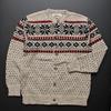 MINNESOTA RUGG 雪柄 セーター ボタンカーディガン メンズ画像