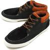 Pointer Footwear Taylor-I Black/Ginger画像