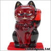 Baccarat CRYSTAL 招き猫 RED画像