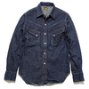 BURGUS PLUS Lot.300WS 9oz. Denim Western Shirt HBP-300WS画像