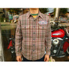 TOYS McCOY ROUTE66 CHECKED WORK SHIRT GREAT AMARICAN HIGHWAY TMS1217画像