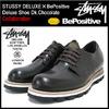 STUSSY × BePositive Deluxe Shoe Dk.Chocolate DELUXE 4038058画像