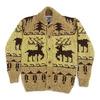 Kanata Cowichan Sweater Super Fine Melino VINTAGE DEER画像