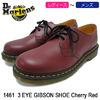 Dr.Martens 1461 3 EYE GIBSON SHOE Cherry Red R11838600画像