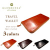 GLENROYAL Travel Wallet Bridle Leather/Oxford Tan画像