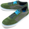 LAKAI MANCHESTER SELECT OLIVE SUEDE画像