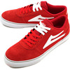 LAKAI MANCHESTER SELECT RED SUEDE画像
