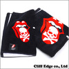 mastermind JAPAN × THEATER8 THE ROLLING STONES TOWEL SET BLACK画像