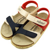 Papillio Kids BARI BF Champagne Cream/Blue/Red 246433画像