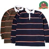 BARBARIAN CLASSIC RUGBY SHIRT 4 INCH STRIPE画像