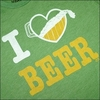 SOLID THREADS Heart Beer  T-Shirt ST433M画像