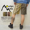 Mountain Mania MACHU PICHU CRAZY SHORTS 41700104画像