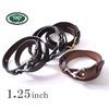 Tory Leather 1.25インチ フックバックルベルト画像