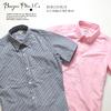 BURGUS PLUS S/S Oxford BD Shirt HBP-303S画像