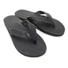 RAINBOW SANDALS SINGLE CLASSIC LEATHER BLACK SMOOTH画像