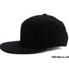 40oz NYC Balmain inspired NY SNAPBACK CAP BLACKxBLACK画像