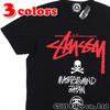 mastermind JAPAN x STUSSY STOCK LOGO SKULL TEE画像