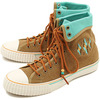 PF Flyers CENTER XTRA HI Beige/Turquoise PM13XH 3V画像