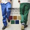 BRTH BREATH  ボーダー切替リブチノパンツ 55185040画像