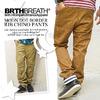BRTH BREATH ムーンドットボーダー切替リブチノパンツ 55185053画像
