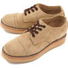 PISTOLERO Oxford Cap Toe TAN SUEDE 112-03画像