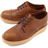 PISTOLERO Oxford Cap Toe BROWN 112-02画像