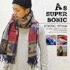 AS SUPER SONIC Ethnic Stole KST-7503画像
