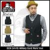 BEN DAVIS Military Cord Work Vest 3780032画像