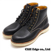VISVIM VIRGIL BOOTS-FOLK BLACK画像