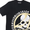 mastermind JAPAN x 24karats サークルロゴ TシャツBLACKxGOLD画像
