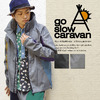 go slow caravan ブレッサブル杢ツイル ソフトシエルパーカ 370257画像