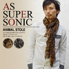 AS SUPER SONIC Animal Stole KST-7022画像