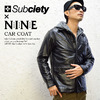NINE RULAZ LINE × Subciety CAR COAT SBF5222画像