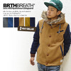 BRTH BREATH 3WAY MELTON HOODED JACKET 55586004画像