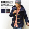 BRTH BREATH W-FACE MELTON DUFFEL COAT 55756007画像