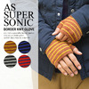 AS SUPER SONIC BORDER KNIT GLOVE KGV-5013画像