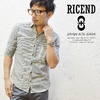 RICEND STRIPE 5/S SHIRT 622-6321画像