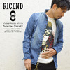 RICEND VINTAGE PROCESS wire in DENIM SHIRT 631-6523画像