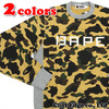 A BATHING APE 1ST CAMO BAPE CREW NECK 1A30-113-006画像